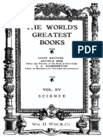 The World's Greatest Books — Volume 15 — Science by Hammerton and Mee