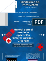 Manual para el uso de la aplicación Primeros Auxilios – Cruz roja