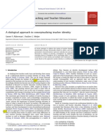 A Dialogical Approach to Conceptualizing Teacher Identity
