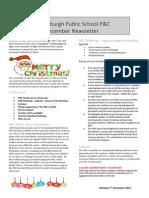 P&C December Newsletter