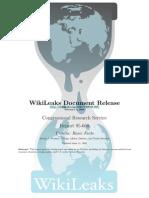 Basic Facts - Wikileaks