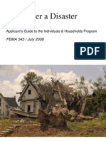 How to apply for federal disaster relief