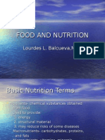 Food and Nutrition Nursing