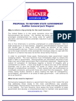 Wagner Reform Plan