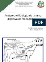 Aula 3 - Anatomia e Fisiologia Do Sistema Digestivo de Monogástricos