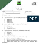 Ujian Chapter 6 f1 sains