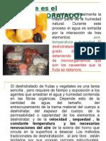 MAQUINAS DESHIDRATADORAS