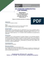 Raccion Adversa Paracetamol
