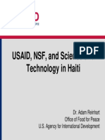 From EqUSAID, NSF, and Science and Technology in Hait