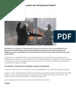 ¿Qué pasa hoy en los países de la Primavera Árabe_ - BBC Mundo.pdf