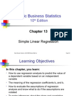 BBS10 Ppt Mtb Ch13 Simple Linear Regression