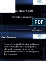 bristol-myers squibb final presentation