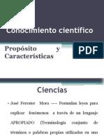 Conocimiento científico 1