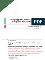 Kuliah 9_Pengangguran & Inflasi