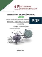 Seminario de Biología Grupo Verde