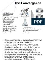 convergence presentation