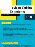 the mexican cuisine experience