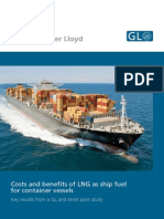 Cost Benifit of LNG as Ship Fuel