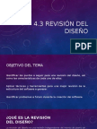 4.3 REVISION DEL DISEÑO.pptx