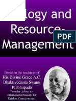 Ecology and Resource
