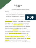 c1 grammar - quiz 4