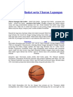 Teknik Bola Basket Serta Ukuran Lapangan