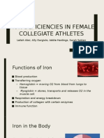 iron deficiencies in athletes ppt  3