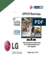 LG 50PV450 Training Manual