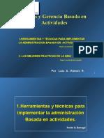 Herramientas Tecnicas y Mejores Practicas Del ABM