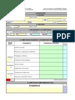 protocolo evaluacion del desempeno anual de docentes vig 2014