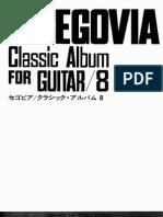 A Segovia Album Vol 8