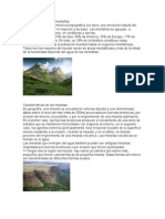 Características de Las Montañas