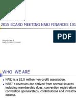 NABJ Finances 101