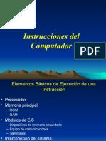 Instrucciones de computador