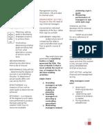 Management Services (NOTES)