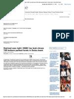 Hsbc Tax Leak