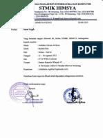 Lampiran 4 Surat Tugas Lokakarya AA Angkatan I Tahun 2015