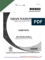 SOAL-DAN-PEMBAHASAN-UN-MATEMATIKA-SMP-2014-PAKET-3