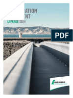 Lafarge Cement 2014 Annual Report