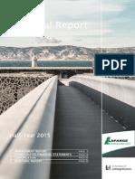 lafarge Financial Report June 2015