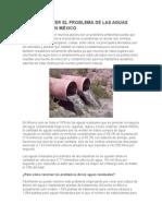 Como Resolver El Problema de Las Aguas Residuales en México