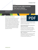Forrester Research Report Advocate Marketing