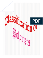 Classification of Polymer