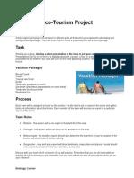 1- eco-tourism project