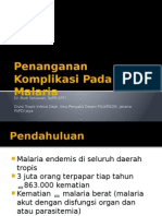 Penanganan Malaria dengan Komplikasi Bengkulu_dr Budi Setiawan.pptx