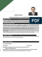 Hitesh Resume