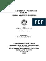 Otitis Eksterna Maligna recurrent