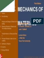 Contents--Mechanics of Materials