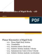 16 Planar Kinematics of Rigid Body