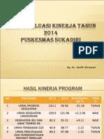 Hasil Evaluasi Kinerja Tahun 2014